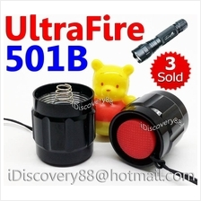 UltraFire 501B TailCap-SR LED Torch FlashLight On/Off Switch Cap