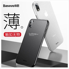 APPLE IPHONE XS MAX BASEUS WING Ultra SLIM Transparent Matte Case