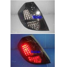 Honda Jazz/Fit '08 LED Tail Lamp [Red-Clear/Smoke/Red-Black]
