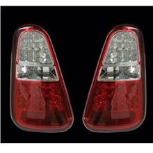 BMW Mini Cooper '07-08 R56 Double LED Tail Lamp [Red/Clear]