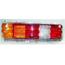 DEPO Mercedes Benz W123 Crystal Tail Lamp Red/Clear