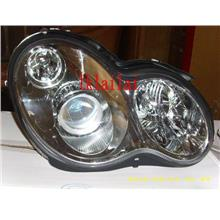 DEPO Mercede W203 Head Lamp Projector With Vacuum [Chrome Housing]