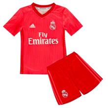 7fc0798e41d Real Madrid 3rd Kit 2018 2019 Jersey Set Red for Kids
