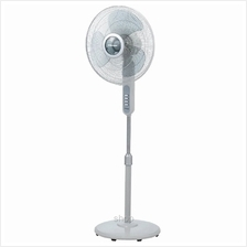 Morgan Stand Fan Light Grey - MSF-16P2)
