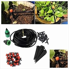Auto Micro Drip Watering System Plant Garden Water Irrigation Kit Set