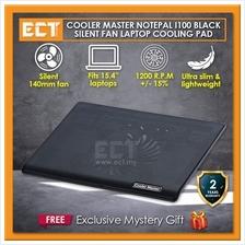 Cooler Master NotePal I100 Notebook Cooler Pad - Black