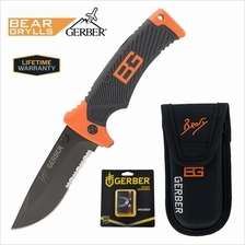 Gerber Combo Bear Grylls Folding Sheath Knife with Sharpener