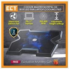 Cooler Master NotePal X3 Notebook Cooler Pad (CM-R9-NBC-NPX3-GP)