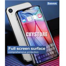 APPLE IPHONE XR XS MAX BASEUS 0.2mm ARC Surface Tempered Glass