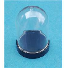 Clear Transparent Plastic Dome / Display Casing Dome (Ellipse / Round)