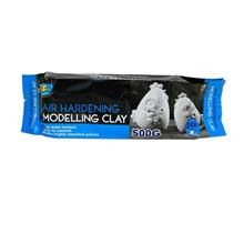 Air Hardening Modelling Clay (White - 500g)