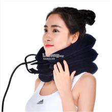 New Air Inflatable Pillow Cervical Neck Head Pain Traction Support