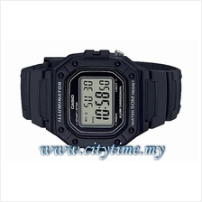 Casio Youth Digital Rubber Sport Watch W-218H-1AVDF