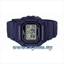 Casio Youth Digital Rubber Sport Watch W-218H-2AVDF