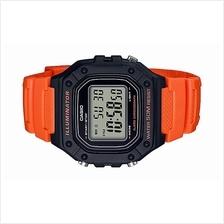 Casio Youth Digital Rubber Sport Watch W-218H-4B2VDF