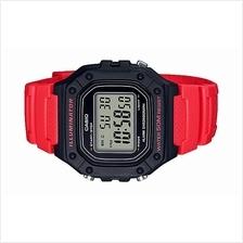 Casio Youth Digital Rubber Sport Watch W-218H-4BVDF