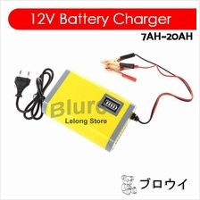 12V 2A Auto Smart Charger For Motorcycle / Car Battery