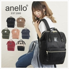 (SALE) ANELLO JAPAN Nylon Square Shape Rucksack Backpack
