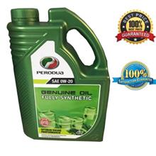[100% ORIGINAL] PERODUA FULLY SYNTHETIC GENUINE ENGINE OIL 0W20 (4LIT)