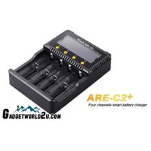 Fenix ARE-C2+ Li-ion NiMH Four Channel Battery Charger