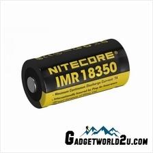 Nitecore IMR 18350 3.7V 700mAh Li-ion Rechargeable Battery (NL18350A)