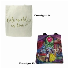 DISNEY PRINCESS BELLE BATB CANVAS TOTE BAG