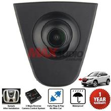 HONDA XRV 14-18 Plug n Play Front View Camera Kit with 3-Way Converter
