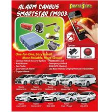 TOYOTA PRUIS / PRUIS C Plug & Play Add On Alarm System