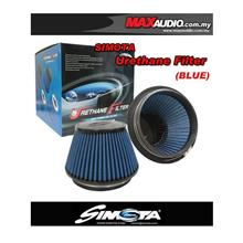 SIMOTA 3' 4' 4.5' 6' Blue Fabric Urethane Racing Open Port Air Filter