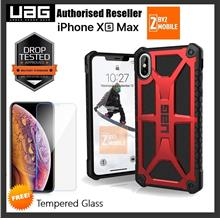 Official Ori UAG Urban Armor Gear Monarch iPhone XS MAX case cover red