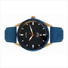 Alba Men Analog Leather Date Watch VJ42-X247BRGL