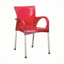 PLASTIC CHAIRS WITH STEEL LEGS (9947)