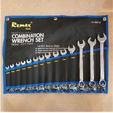 Remax 08-24mm 14pcs Combination Wrench Set ID30660