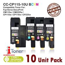 Fuji Xerox CP115 / CP116 / CP225 / CM115 / CM225 (Mixed 10 Unit Pack)