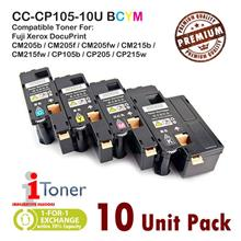 Fuji Xerox CP105 / CP205 / CP215 / CM205 / CM215 (Mixed 10 Unit Pack)
