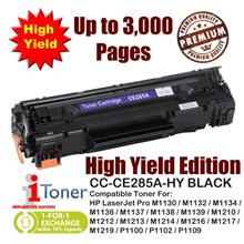 HP 85A CE285A Grade-A Compatible Toner 1,600+1,400 Pages High Yield