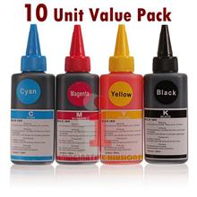 Universal Refill Dye Ink 100ml Brother/Canon/Epson/HP (10 Unit Pack)