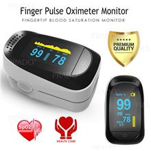 PRADO Finger Pulse Oximeter Blood Oxygen Saturation Monitor Fingertip