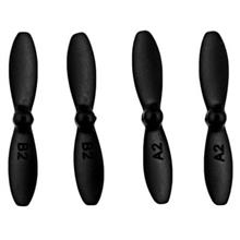 4PCS PROPELLER ACCESSORY FOR FAYEE FY804 RC QUADCOPTER (BLACK)