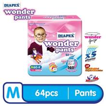 DIAPEX Wonder Pants Super Jumbo( M60, L50, XL40, XXL32 )