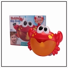 New 24 Song Crabs Bubble Machine Bath Toy