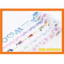 WH363 - Ice Waltz Series Washi Tape