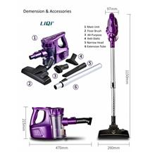 1 yr wrrty LIQI Original Cordless Wireless Handheld Vacuum Cleaner