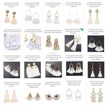 Promotion EARRINGS White