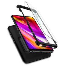 LG G7 - Spigen Thin Fit 360 & Tempered Glass Case