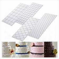 Quilted Icing Texture Sheet Impression Mat 4pc