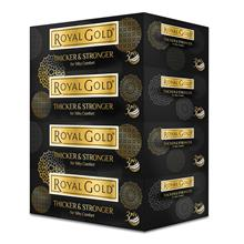 Royal Gold Luxurious White Facial Tissue 4 boxes X 80 sheets – 3 Packs)