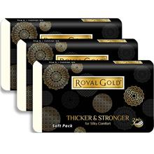 Royal Gold Luxurious Soft Pack 3pktsX50'Sheets-10Packs )