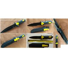 CELLY Diving Knife (Yellow Handle) (SLL 016)