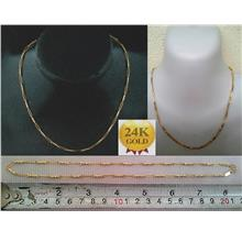 CELLY 24K Gold Plated Necklace (D 40-0288)